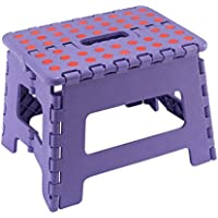 JMS® klein Kunststoff Schritt Hocker Folding Mehrzweck-schwere Duty-Made in UK JMS Purple SMALL Stool preisvergleich bei kinderzimmerdekopreise.eu