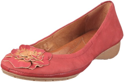 Naya RUSTICA 213775-45542400, Ballerines femme Rouge-TR-A4-59