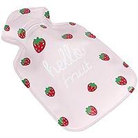 MSYOU Wärmflasche, klein, süßes Cartoon-Obstmotiv, warm, Winter, tolles Geschenk für Frauen, Mädchen, Kinder (... preisvergleich bei billige-tabletten.eu