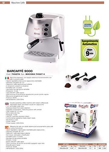 Zoom IMG-1 termozeta 74527 macchina espresso barcaff