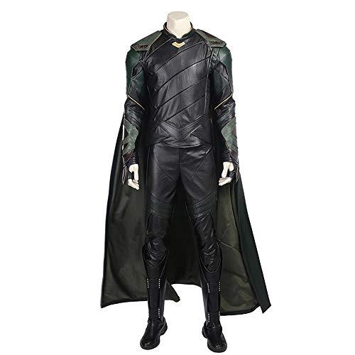 Cosplay Male Spiriti Loki Cos Abbigliamento Raytheon 3 Anti-Loki Full Set Costume Cosplay Abbigliamento Uomo Full Set (Remark Shoe Size)-L