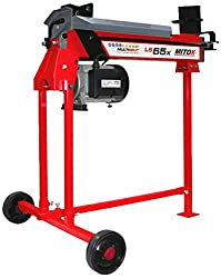 Mitox LS65X Select Horizontal Electric Log Splitters, Red