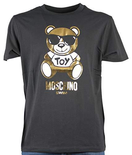 Moschino swim t.shirt con orsetto oro (l)