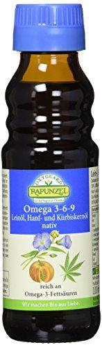 RAPUNZEL Omega 3-6-9, 1er Pack (1 x 100 g) - Bio