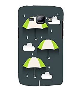 Umbrellas 3D Hard Polycarbonate Designer Back Case Cover for Samsung Galaxy J1 (2015) :: Samsung Galaxy J1 4G :: Samsung Galaxy J1 4G Duos :: Samsung Galaxy J1 J100F J100FN J100H J100H/DD J100H/DS J100M J100MU