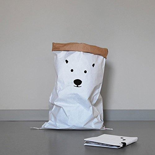 KOLOR Papiersack 'Polar Bear'