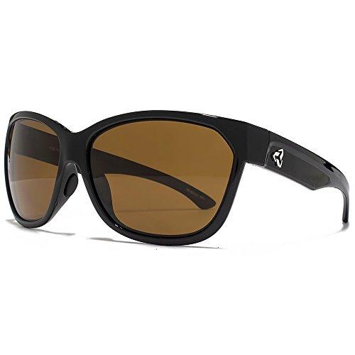 Ryders Eyewear Carlota Sunglasses in White Black Polarised R00214C One Size Brown Silver Flash Mirror Polarised vMRtvd