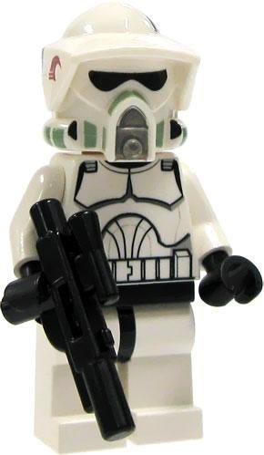 (LEGO Star Wars LOOSE Mini Figure EPII Clone Wars ARF Clone Trooper with Blaster)