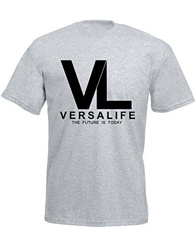 genetics-corporation-mann-gedruckt-t-shirt-grau-schwarz-s-89-94-cm