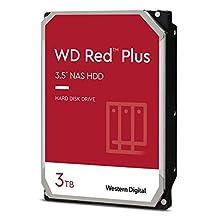 "Western Digital WD Red 3 TB NAS hard disk interno 3.5"", 5400 RPM Class, SATA 6 Gb/s, CMR, 64 MB Cache, WD30EFAX"