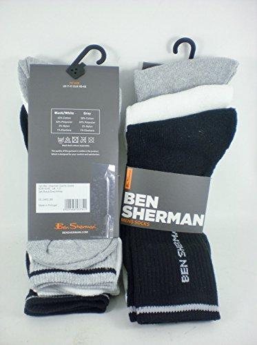 ben-sherman-3pk-mens-sports-socks-uk-7-11-black-grey-white