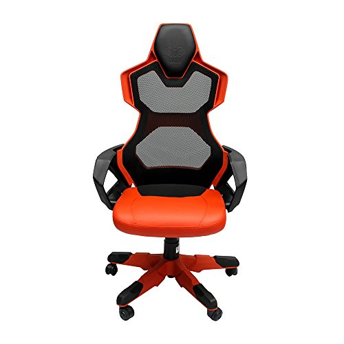 Best E-BLUE EEC307REAA-IA Cobra-R Red Mesh PC Gaming Chair – (Gaming > Gaming Chairs)