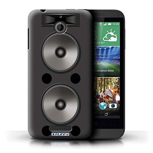 Kobalt® Imprimé Etui / Coque pour HTC Desire 510 / Amplificateur conception / Série Haut-Parleur dessin Double