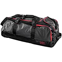 2016 Gill 95L Rolling Cargo Bag Dark Grey/Red Detail L067