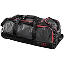 2016 Gill 95L Rolling Cargo Bag Dark Grey/Red Detail L067