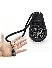 Tradico® 2X Portable Compass Brunton Camping Hiking Hunting Outdoor Sport KeychainRingP&C