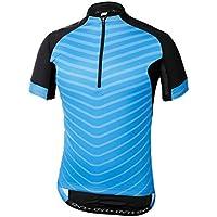 GIMER DVR Endurance Camiseta Ciclismo Hombre, Tubolare, Bianco, M