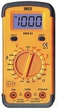 Meco DMM63 Yellow Digital Multimeter