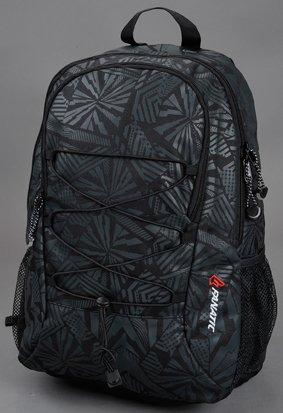 Rucksack HYPNOTIZE Zwei seitliche Netztaschen, gepolsterte Tragegurte mit Reflektorstreifen, Tragegriff, Reißverschlussfach mit integriertem Regencover am Boden. Hauptfach mit gepolstertem Laptopfach, Reißverschlussvorfach mit diversen Einsteckfächer...