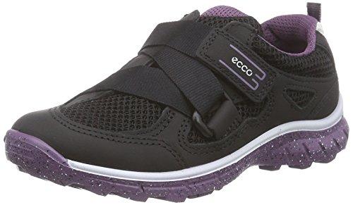 Ecco BIOM TRAIL Unisex-Kinder Sneakers Schwarz (BLACK/BLACK/GRAPE 59461)