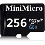 MiniMicroMiniMicro 128GB Class 10 Micro SDXC Memory Card With SD Adapter (128GB)