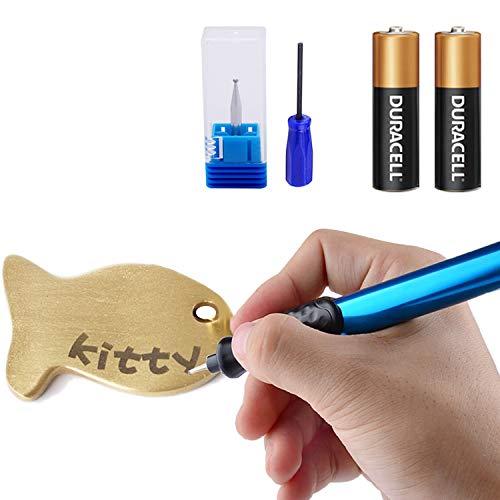 Incisione penna, incisore elettrico penna incisione intagliare strumento per fai da te cancelleria scuola gioielli metallo gl