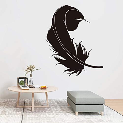 (Mitlfuny Haus & Garten ->DIY Vogel Feder entfernbare Wandtattoo Familie Home Aufkleber Wand Kunst Home Decor)