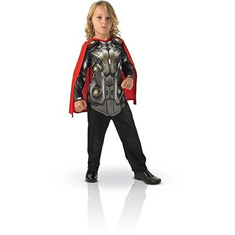 Rubies - CS886590/M - Costume Thor Dark World - Taille M - 5/ 6 ans - Rouge