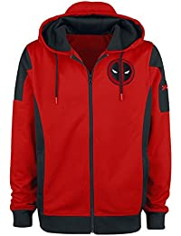 Deadpool Costume Veste de survêtement multicolore