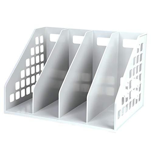 Aktenschränke Schränke Dateikasten Aufbewahrungsbox für Office-Dateien Desktop-Dateihalter Datei Säule Ablagekorb Bücherregal Tisch-Datenrack Student verwenden Ordner mit mehreren Ebenen ( Color : B ) -