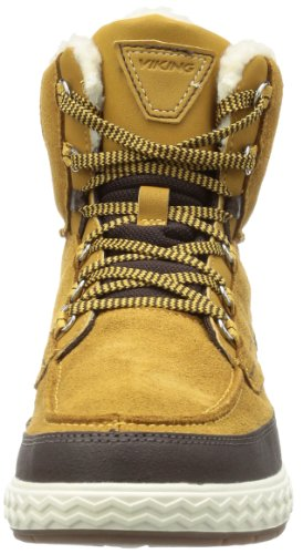 Viking  TRAPPER Gore-Tex®, Bottes de ski mixte enfant Marron - Braun (mustard/dark brown 4318)