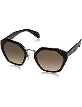 Prada 04Ts, Gafas de Sol Unisex, Havana, 55