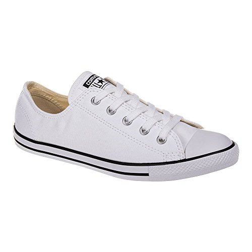 Ballerine Converse 537093C AS OX toile Dainty Basic Blanc, Converse Schuhe Damen Slim Sizegroup Leiste 7 5/B:38