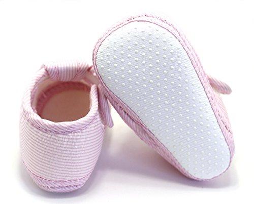 Krabbelschuhe Lauflernschuhe Babyschuhe Hausschuhe Schuhe Gr. 18-19 Pink