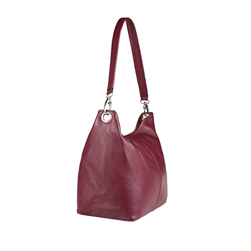OBC Only-Beautiful-Couture, Borsa a spalla donna argento argento 37x24x13 cm (BxHxT) bordo V1