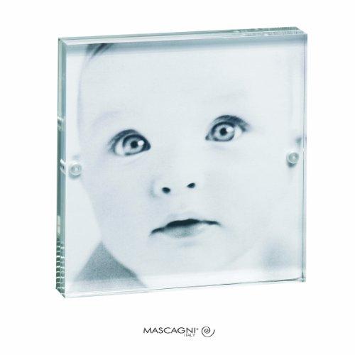 Mascagni Cadre photos en Plexiglas avec fermeture magnétique 7x7