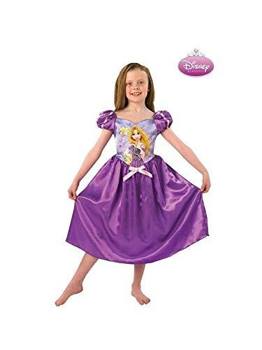 DISBACANAL Disfraz Rapunzel Morada Disney - Único, 5-6 años