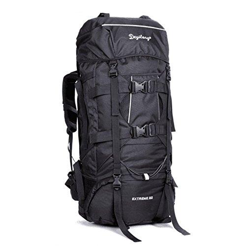KERVINZHANG Wandern Rucksack Reise Daypack Wasserdicht mit Regenschutz für Klettern Camping Bergsteigen