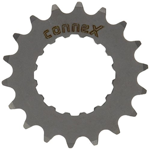 Connex E-Bike Ritzel für Bosch Antrieb 18 Zähne Kettenblätter, Silber, One Size