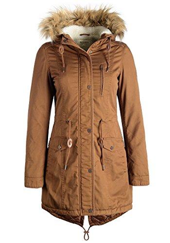 DESIRES Anna - Giacca invernale da Donna, taglia:S;colore:Cinnamon (5056)