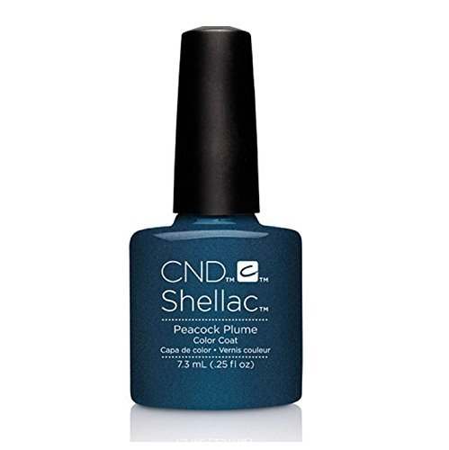 CND Shellac UV Gel Polish - Contradictions - Spring 2015 Collection - 0.25oz_PEACOCK PLUM - C90879 **BCS_BW** by CND Cosmetics