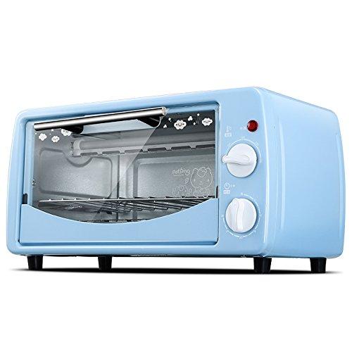 Pfanne Elektrische 12x12 (DULPLAY 12L Mini toasterofen,Besten konvektion,Enthält backen pfanne, Grillen-rack Arbeitsplatte ofen Poliertem edelstahl Toast Home Küche-A 36x24x19.5cm(14x9x8inch))
