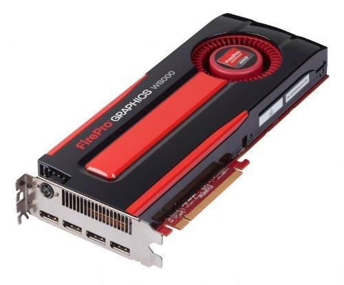 Sapphire Grafikkarte AMD FIREPRO W8000 (4 GB, GDDR5, PCI-E, DP QUAD/STEREO-Klinkenstecker, 3-pol DIN FULL)