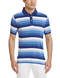 Blackberrys Mens Polo (8907196444194_TSALTMANYBM16BTX39_39_Royal Blue)