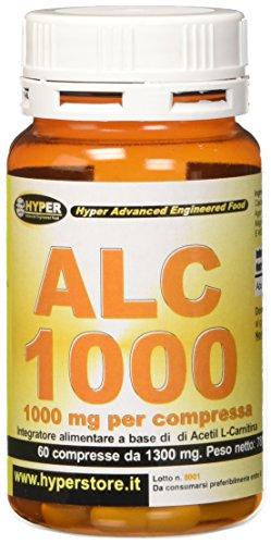 Hyper Acetil L Carnitina Flacone 60 Compresse Dimagrante