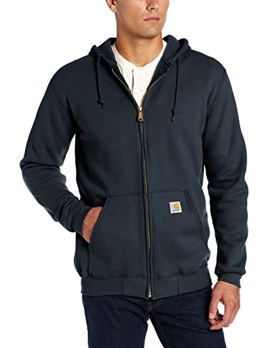 Rodeo-manschette (Carhartt Midweight Hooded Zip Front, Small, new navy, 1)