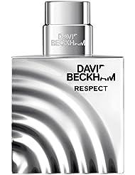 David Beckham RESPECT Eau de Toilette – Holzig-aromatischer Herrenduft mit maskulinem Charakter – 1er Pack (1 x 40 ml)