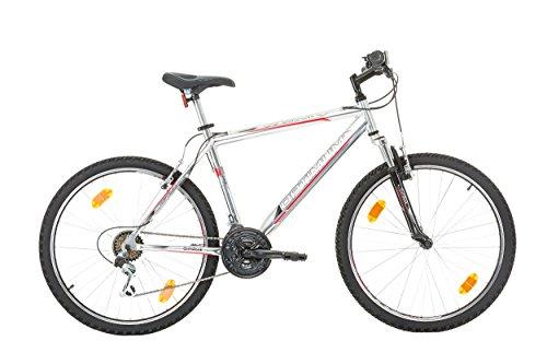 "41maPYup13L - CoollooK OPTIMUM Bicycle 26"" MAN, mountain bike, ALLOY wheels 18 speed Shimano WHITE GLOSS"