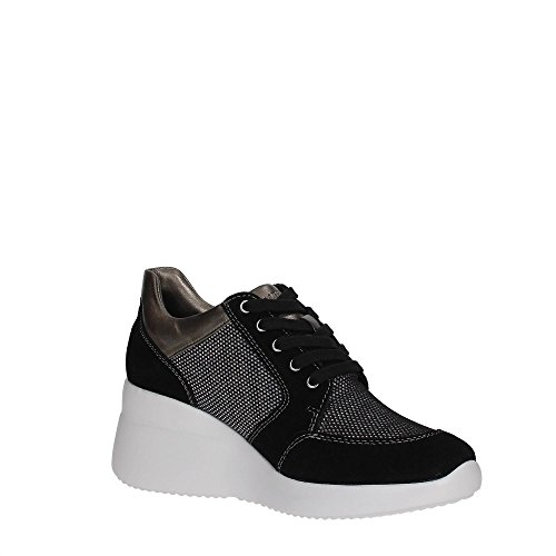 Lumberjack SW24505-001 Sneakers Donna BLACK/GUM METAL
