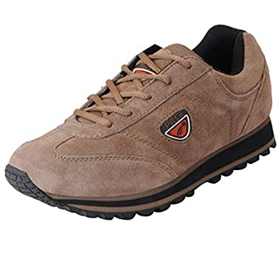 Lakhani Pace Men's Brown Running Shoes PACE NH 17 098-40